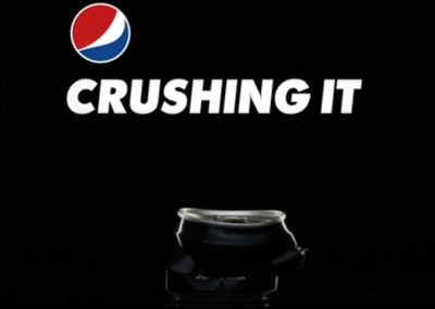 PEPSI- CRUSHING IT- GIF